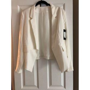 Akira white blazer